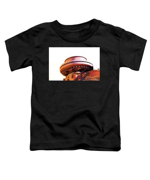Ufo Landing At Joshua Trees Toddler T-Shirt
