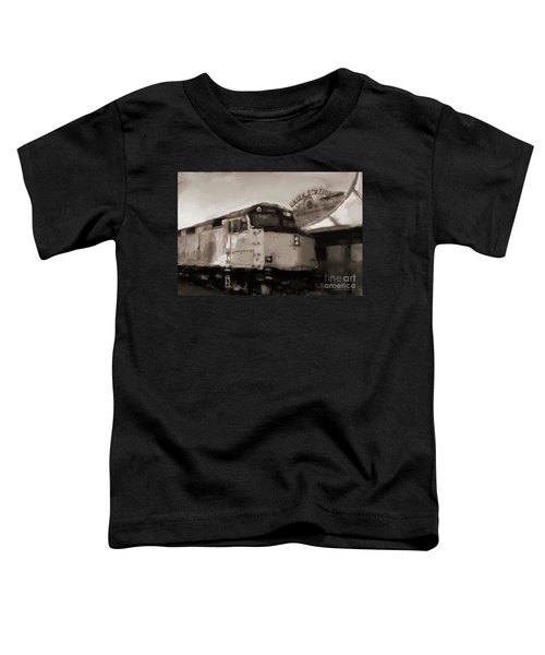 Union Station Train Toddler T-Shirt