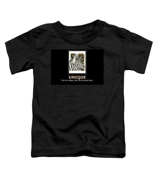 Unique Motivational Poster Toddler T-Shirt