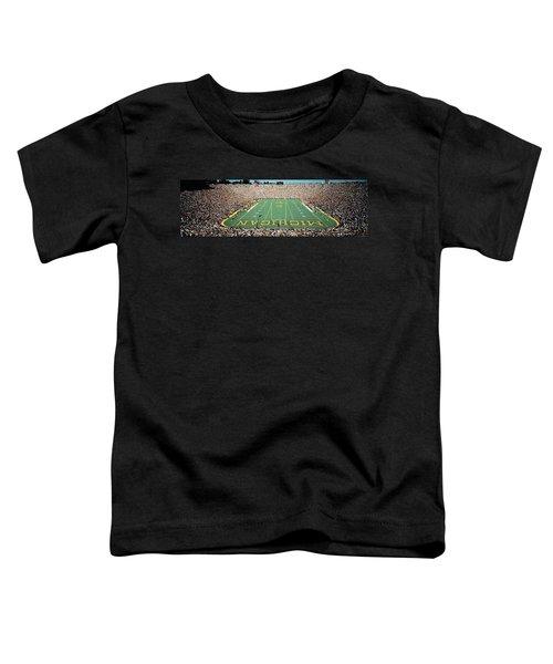 University Of Michigan Stadium, Ann Toddler T-Shirt by Panoramic Images