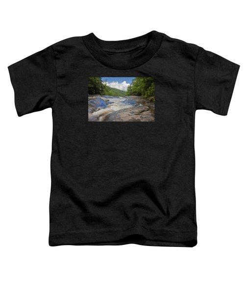 Upper Creek Waterfalls Toddler T-Shirt