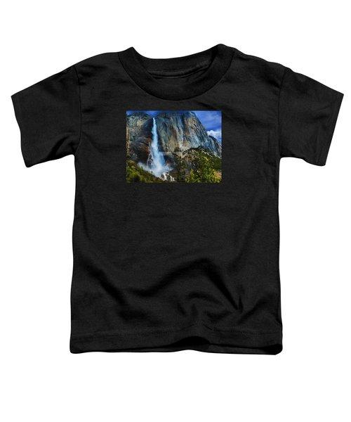 Upper Yosemite Falls Toddler T-Shirt