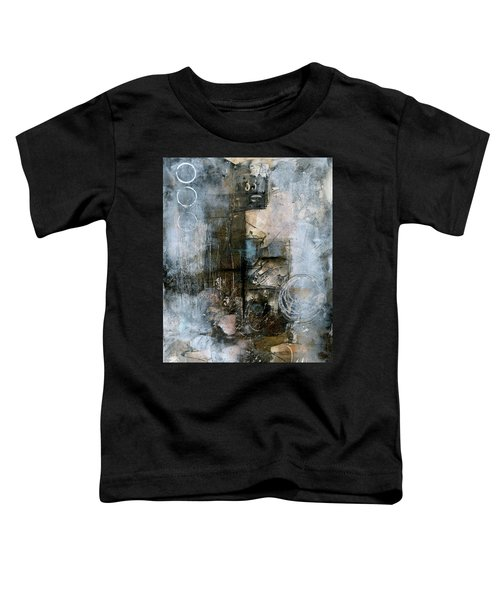 Urban Abstract Cool Tones Toddler T-Shirt