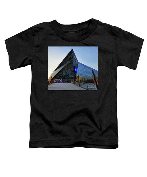 Usbank Stadium The Approach Toddler T-Shirt