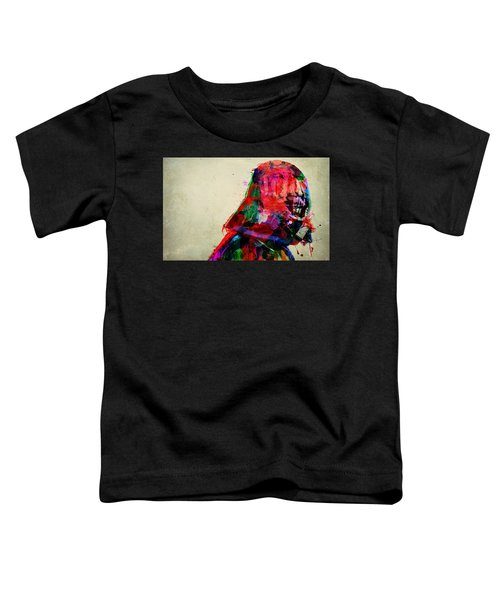 Vader In Color And Thought Toddler T-Shirt