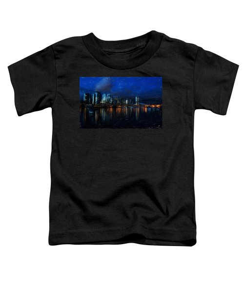 Vancouver At Dusk Toddler T-Shirt