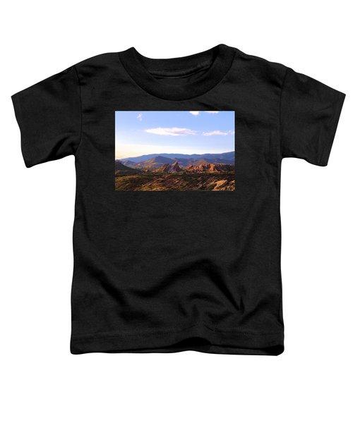 Vasquez Rocks Sky And Stones Toddler T-Shirt