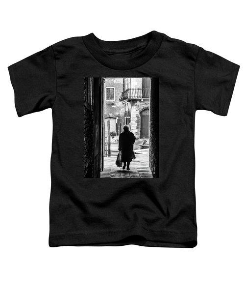 Venetian Silhoutte Lady Toddler T-Shirt