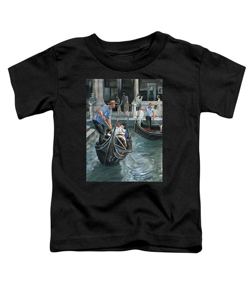 Venice. Il Bacino Orseolo Toddler T-Shirt