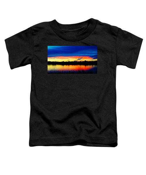 Vermillion Sunset Toddler T-Shirt