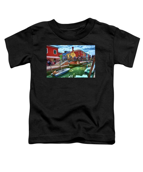 Vibrant Dreams Floating In The Air Toddler T-Shirt