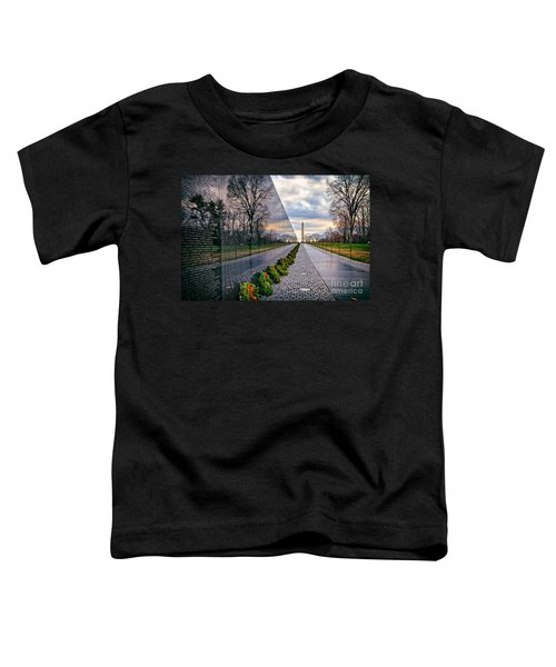 Vietnam War Memorial, Washington, Dc, Usa Toddler T-Shirt