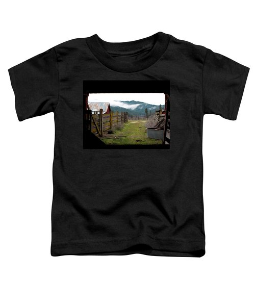 View From A Barn Toddler T-Shirt