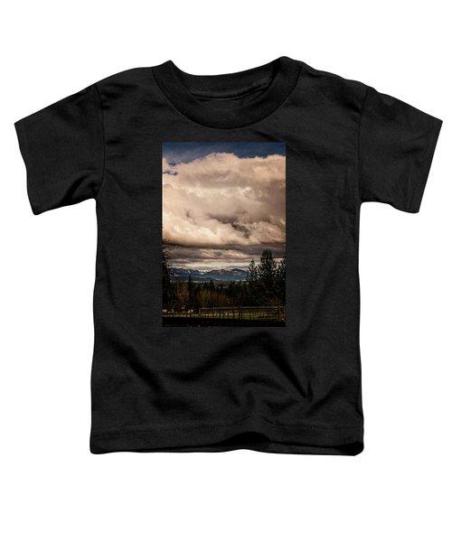 View From Flicka Farm Toddler T-Shirt