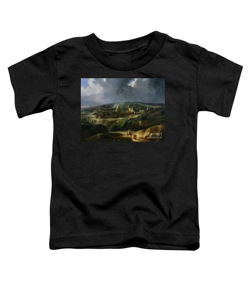 View Of Jerusalem From The Valley Of Jehoshaphat Toddler T-Shirt