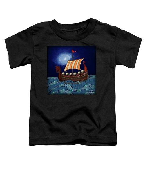 Viking Ship Toddler T-Shirt