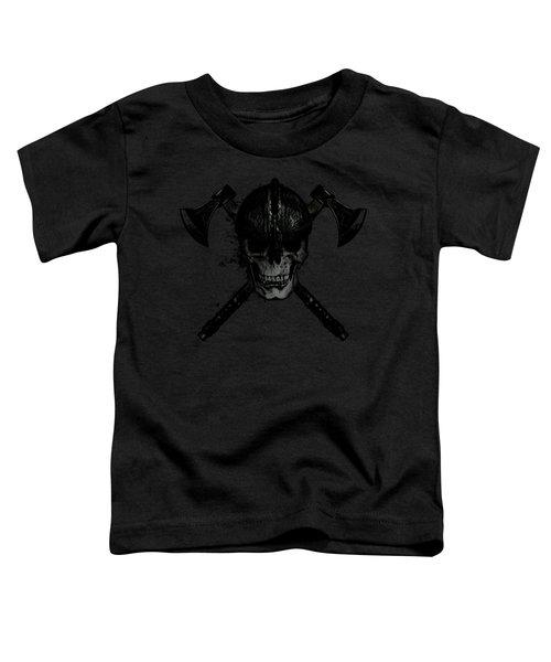Viking Skull Toddler T-Shirt