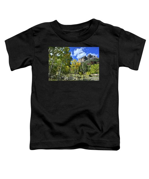 Village Beneath Mt. Charleston Toddler T-Shirt
