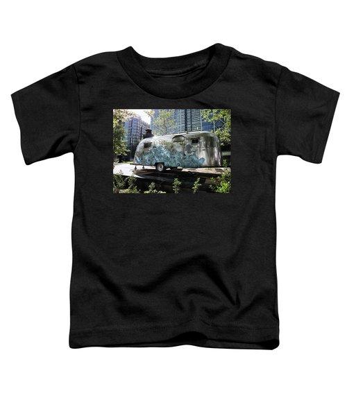 Vintage Airstream Toddler T-Shirt