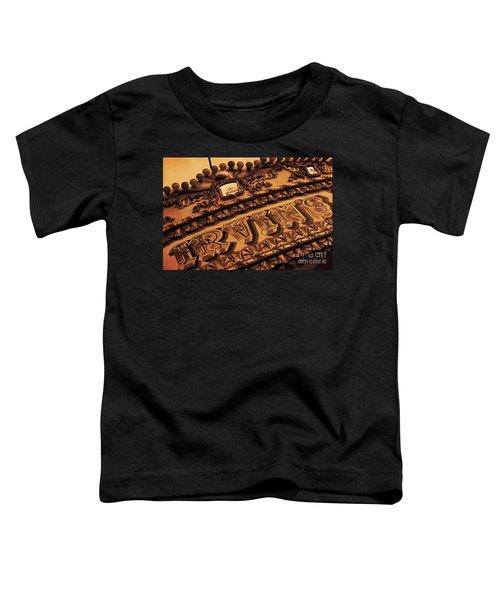 Vintage Fairground Carousel Toddler T-Shirt