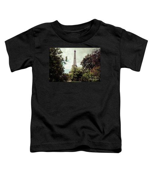 Vintage Paris Landscape Toddler T-Shirt