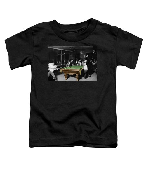 Vintage Pool Hall Toddler T-Shirt
