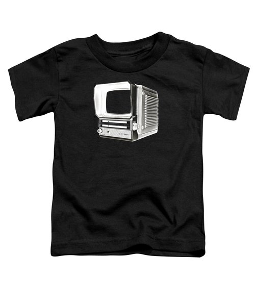 Vintage Portable Television Tee Toddler T-Shirt
