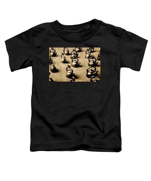 Vintage Teapot Party Toddler T-Shirt