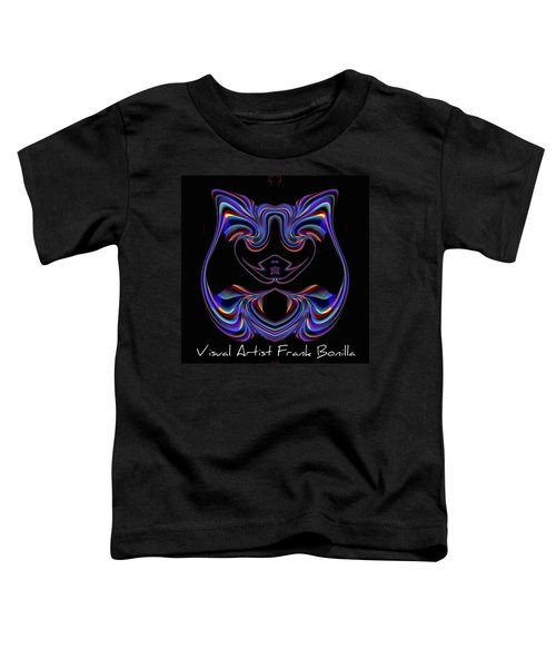 Visual Artist Frank Bonilla Logo Toddler T-Shirt