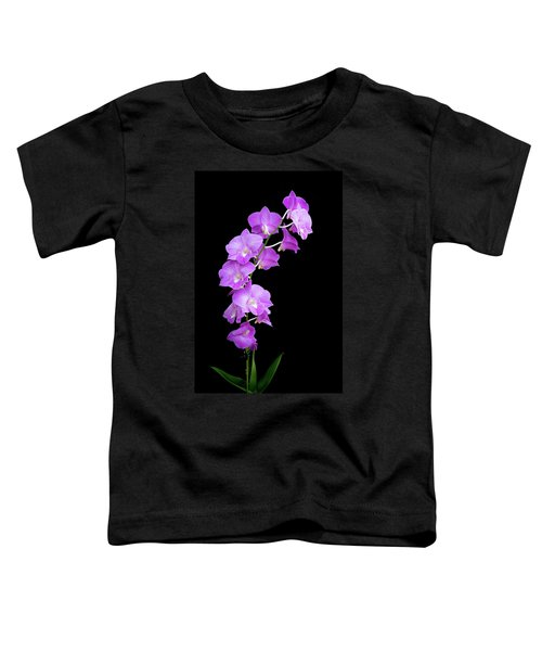 Vivid Purple Orchids Toddler T-Shirt