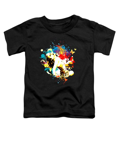 Vixen Subdued Toddler T-Shirt by Chris Andruskiewicz