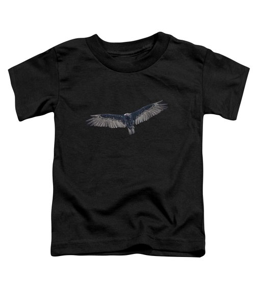 Vulture Over Olympus Toddler T-Shirt by Nick Collins