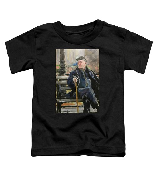 Waiting On The Bus Toddler T-Shirt