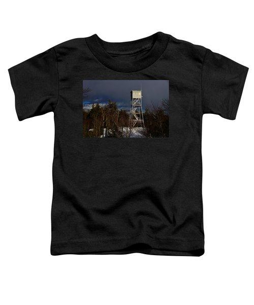 Waiting Tower Toddler T-Shirt