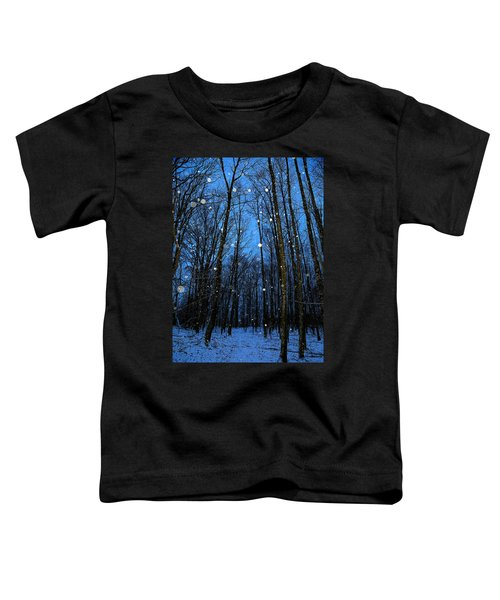 Walk In The Snowy Woods Toddler T-Shirt