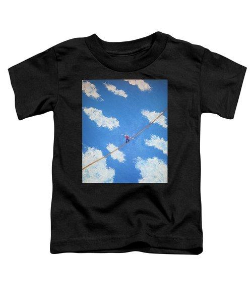 Walking The Line Toddler T-Shirt