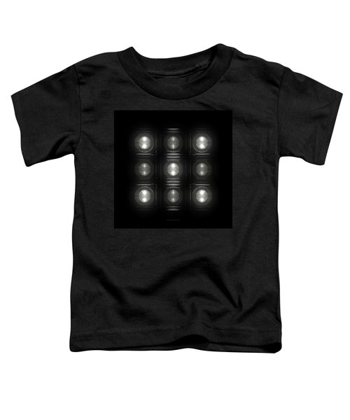 Wall Of Roundels 3x3 Toddler T-Shirt