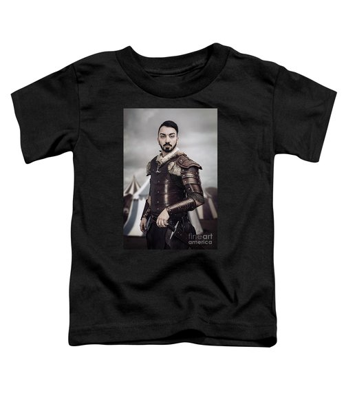 Warrior In Field Toddler T-Shirt