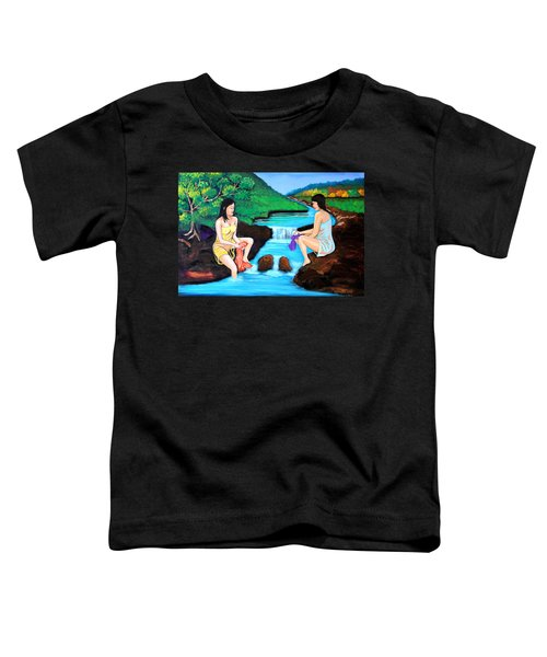 Washing In The River Toddler T-Shirt