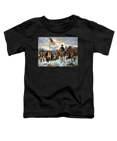 Washington At Valley Forge Toddler T-Shirt