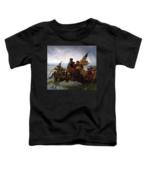Washington Crossing The Delaware River - Detail Toddler T-Shirt