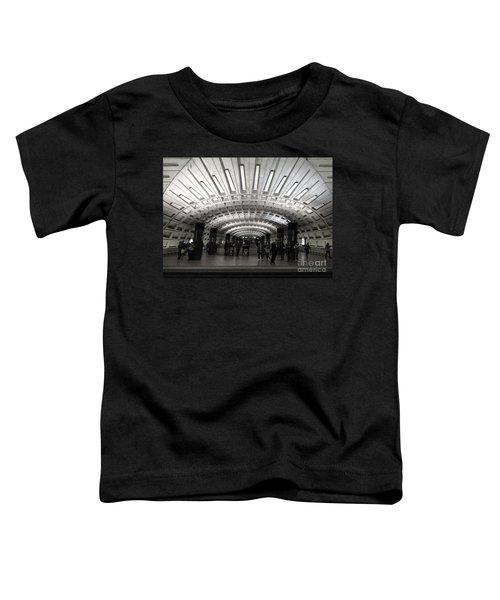 Washington Dc Metro Metro Center Stop Toddler T-Shirt