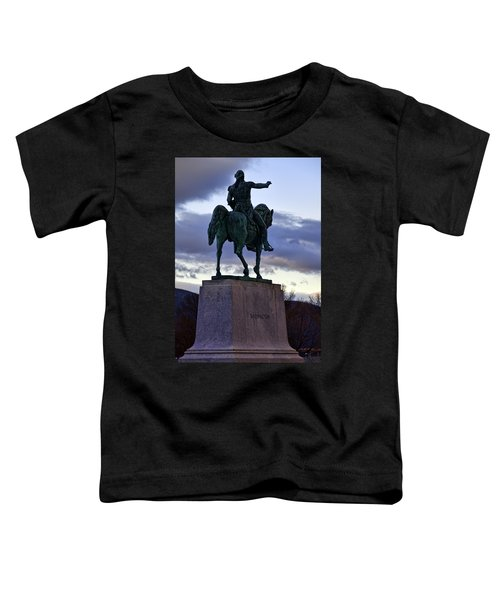 Washington Monument At West Point Toddler T-Shirt