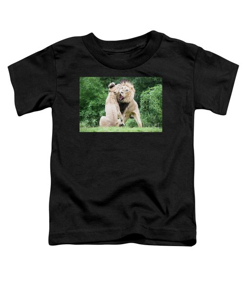 We Are Only Playing Oil Toddler T-Shirt