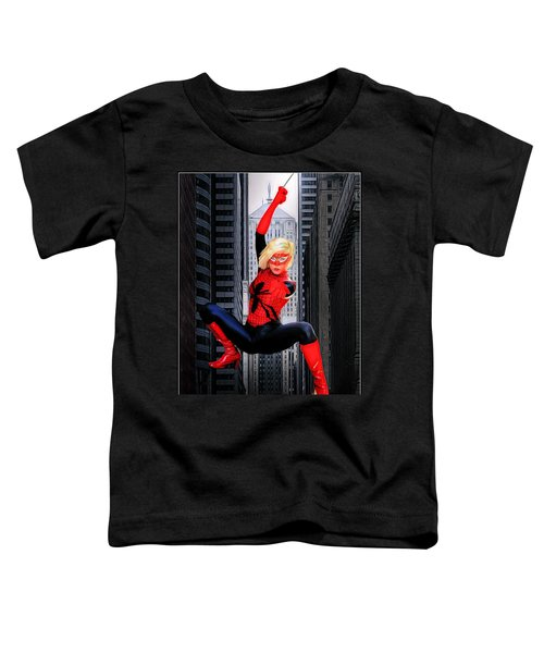 Web Swinger Toddler T-Shirt