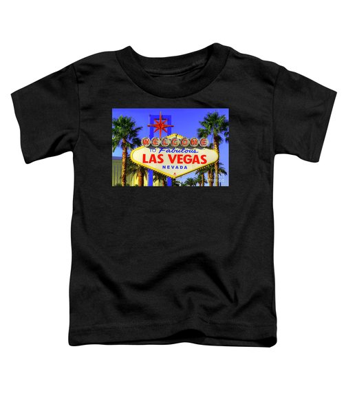 Welcome To Las Vegas Toddler T-Shirt