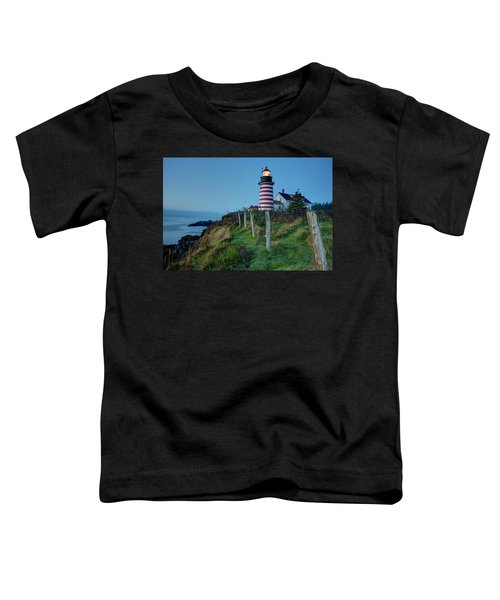 West Quoddy Head Light Toddler T-Shirt