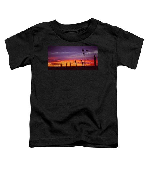 West Texas Sunset Toddler T-Shirt