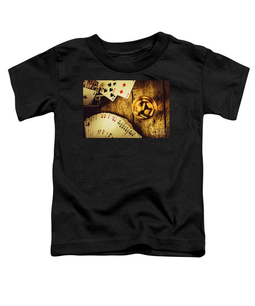 Western Straight Shooter  Toddler T-Shirt