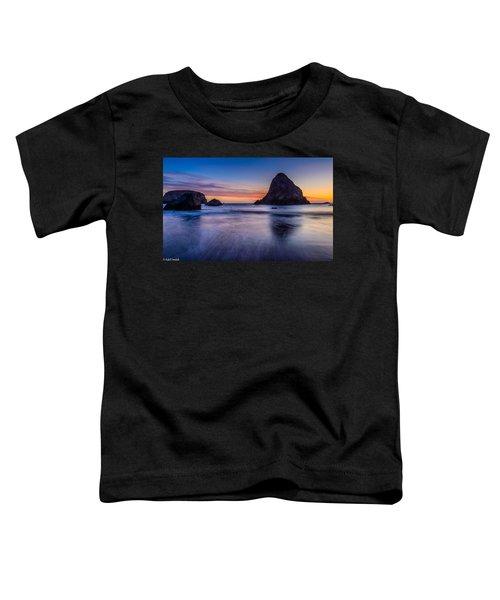 Whaleshead Beach Sunset Toddler T-Shirt